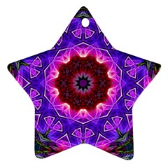 Smoke Art (20) Star Ornament (two Sides)