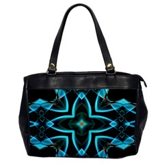 Smoke Art (21) Oversize Office Handbag (one Side) by smokeart