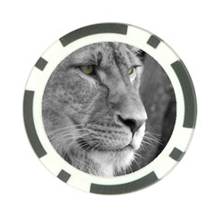Lion 1 Poker Chip 10 Pack by smokeart