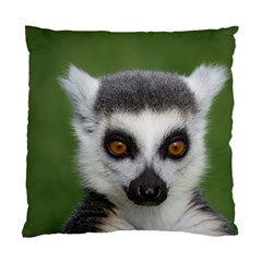 Ring Tailed Lemur Cushion Case (two Sides) by smokeart