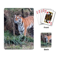 Tiger Playing Cards Single Design by smokeart