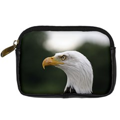 Bald Eagle (1) Digital Camera Leather Case by smokeart