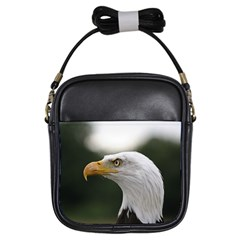 Bald Eagle (1) Girl s Sling Bag by smokeart