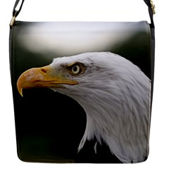 Bald Eagle (1) Flap Closure Messenger Bag (small) by smokeart