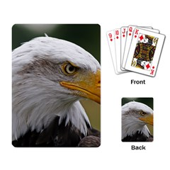 Bald Eagle (2) Playing Cards Single Design by smokeart