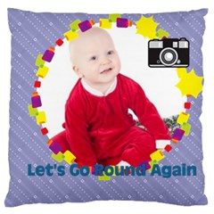 Baby By May   Large Cushion Case (two Sides)   F44pd9i0waxq   Www Artscow Com Back