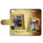Memories Apple iPhone 4/4S Leather Folio Case