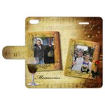 Memories Apple iPhone 5 Leather Folio Case