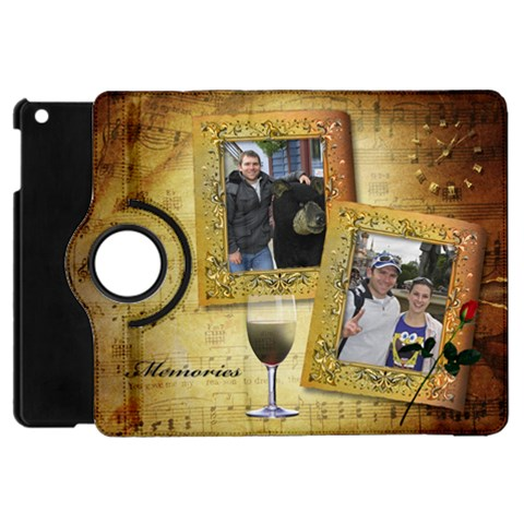 Memories Apple Ipad Mini Flip 360 Case By Deborah   Apple Ipad Mini Flip 360 Case   R83zwjn05ekg   Www Artscow Com Front