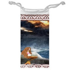 Stormy Twilight Ii [framed]  Jewelry Bag