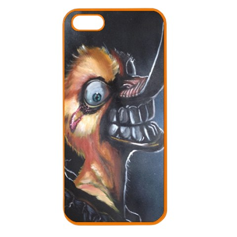 Crazy Duck By William   Apple Seamless Iphone 5 Case (color)   Zpyot7zsbbvt   Www Artscow Com Front
