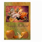 harvest flag - Large Garden Flag (Two Sides)
