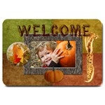 autumn welcome - Large Doormat