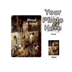Blood & Sand Deck By Risaldar Singh   Playing Cards 54 (mini)   Q23322m2a6yi   Www Artscow Com Back