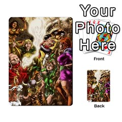 Fantasy Forest By Michael Mifsud   Multi Purpose Cards (rectangle)   Fu5qqy777xng   Www Artscow Com Front 15