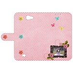 Samsung Galaxy Note 2 Leather Folio Case - Pink