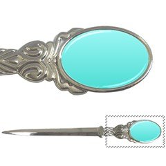 Celeste To Turquoise Gradient Letter Opener by BestCustomGiftsForYou
