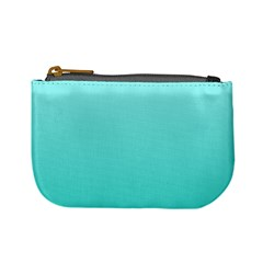 Celeste To Turquoise Gradient Coin Change Purse