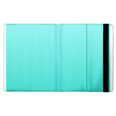 Celeste To Turquoise Gradient Apple Ipad 3/4 Flip Case by BestCustomGiftsForYou