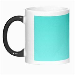 Turquoise To Celeste Gradient Morph Mug by BestCustomGiftsForYou