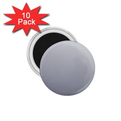 Gainsboro To Roman Silver Gradient 1 75  Button Magnet (10 Pack) by BestCustomGiftsForYou