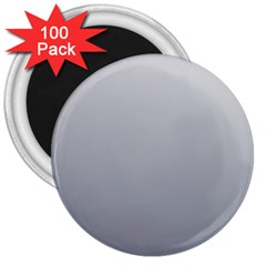 Gainsboro To Roman Silver Gradient 3  Button Magnet (100 Pack) by BestCustomGiftsForYou