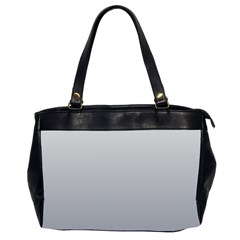 Gainsboro To Roman Silver Gradient Oversize Office Handbag (two Sides) by BestCustomGiftsForYou