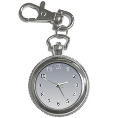 Roman Silver To Gainsboro Gradient Key Chain & Watch by BestCustomGiftsForYou