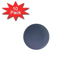 Charcoal To Cool Gray Gradient 1  Mini Button Magnet (10 Pack) by BestCustomGiftsForYou