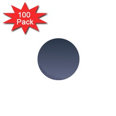 Charcoal To Cool Gray Gradient 1  Mini Button (100 Pack) by BestCustomGiftsForYou