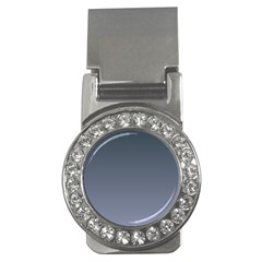 Charcoal To Cool Gray Gradient Money Clip (cz) by BestCustomGiftsForYou