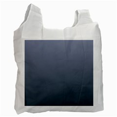Cool Gray To Charcoal Gradient Recycle Bag (two Sides) by BestCustomGiftsForYou