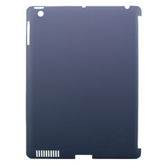 Cool Gray To Charcoal Gradient Apple Ipad 3/4 Hardshell Case (compatible With Smart Cover) by BestCustomGiftsForYou