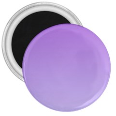 Lavender To Pale Lavender Gradient 3  Button Magnet by BestCustomGiftsForYou
