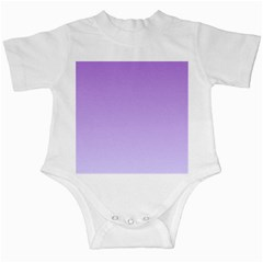 Lavender To Pale Lavender Gradient Infant Creeper by BestCustomGiftsForYou