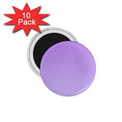 Lavender To Pale Lavender Gradient 1 75  Button Magnet (10 Pack) by BestCustomGiftsForYou