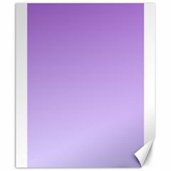 Lavender To Pale Lavender Gradient Canvas 20  X 24  (unframed) by BestCustomGiftsForYou