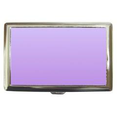 Pale Lavender To Lavender Gradient Cigarette Money Case
