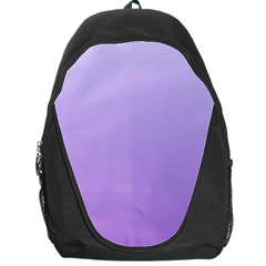 Pale Lavender To Lavender Gradient Backpack Bag by BestCustomGiftsForYou