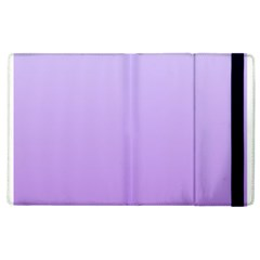 Pale Lavender To Lavender Gradient Apple Ipad 3/4 Flip Case by BestCustomGiftsForYou