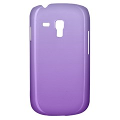 Pale Lavender To Lavender Gradient Samsung Galaxy S3 Mini I8190 Hardshell Case by BestCustomGiftsForYou