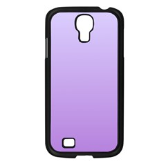 Pale Lavender To Lavender Gradient Samsung Galaxy S4 I9500 (black) by BestCustomGiftsForYou