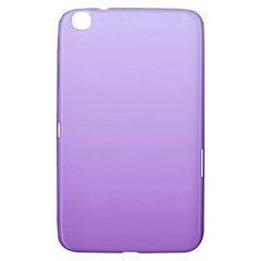 Pale Lavender To Lavender Gradient Samsung Galaxy Tab 3 (8 ) T3100 Hardshell Case  by BestCustomGiftsForYou