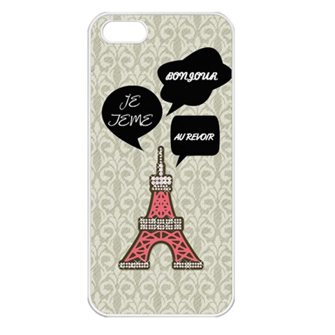 Paris By Lam   Apple Iphone 5 Seamless Case (white)   Szi0hql3kcmf   Www Artscow Com Front
