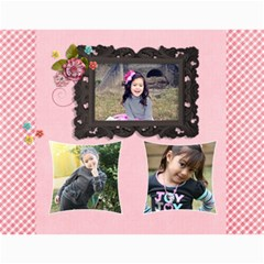 Wall Calendar 11 X 8 5    Pink Sweet Life By Jennyl   Wall Calendar 11  X 8 5  (12 Months)   Iyoyev4a4z7d   Www Artscow Com Month