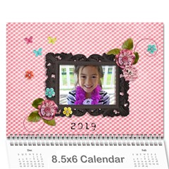 Wall Calendar 8 5 X 6   Pink Sweet Life By Jennyl   Wall Calendar 8 5  X 6    7628i3ac4mj8   Www Artscow Com Cover