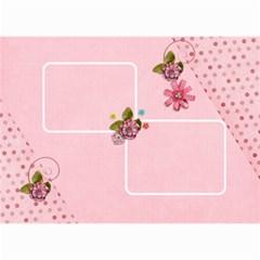 Wall Calendar 8 5 X 6   Pink Sweet Life By Jennyl   Wall Calendar 8 5  X 6    7628i3ac4mj8   Www Artscow Com Month