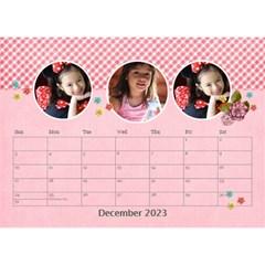 Desktop Calendar 8 5  X 6    Pink Sweet Life By Jennyl   Desktop Calendar 8 5  X 6    Ljka5btot2td   Www Artscow Com Dec 2016