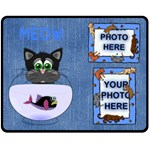 Cat Lover s medium blanket - Fleece Blanket (Medium)
