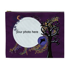 Halloween Night Cosmetic Bag Xl By Zornitza   Cosmetic Bag (xl)   Zv78925r7dhk   Www Artscow Com Front